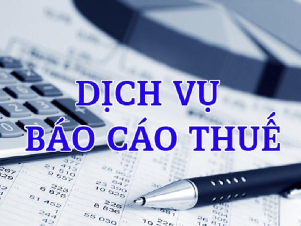 Dịch vụ kế toán - báo cáo thuế