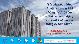 Lai chuyen nhuong BDS 300x169 - LÃI CỦA HOẠT ĐỘNG CHUYỂN NHƯỢNG BĐS CÓ ĐƯỢC BÙ TRỪ VỚI LỖ CỦA HOẠT ĐỘNG SẢN XUẤT KINH DOANH?