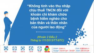 Thue TNCN khoan chi kham chua benh hiem ngheo 300x169 - THUẾ TNCN ĐỐI VỚI KHOẢN CHI KHÁM CHỮA BỆNH HIỂM NGHÈO CHO NGƯỜI LAO ĐỘNG
